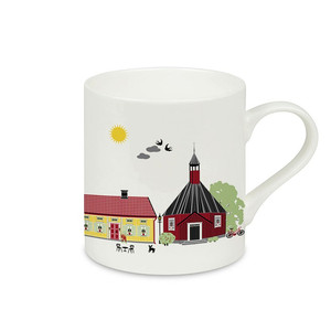 Houses of Umeå mug Emelie Ek design